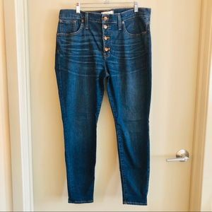 Madewell button fly jeans